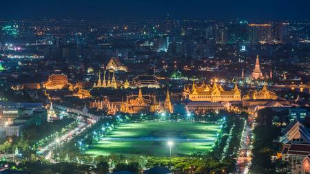 kaew: Wat Phra Kaew view Stock Photo