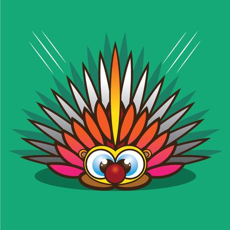 porcupine: Porcupine cartoon