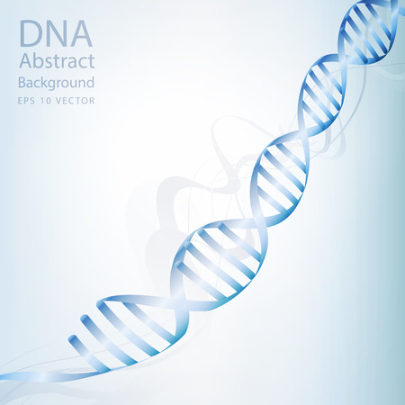 dna sequencing: dna abstract light white colour background  Illustration
