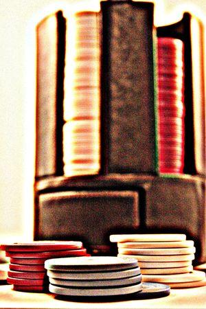 poker chips Stock Photo - 1029358