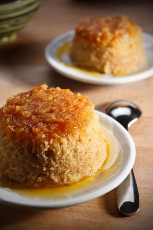 English pudding with ginger Standard-Bild