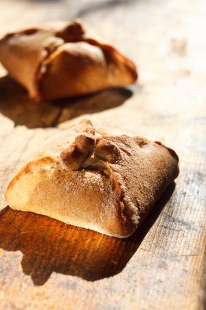 Close-up van traditionele huisgemaakte gebak