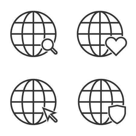 http icon isolated