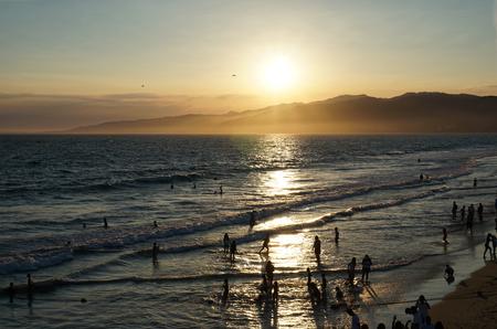 santa monica: Santa Monica Beach