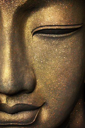 The face of Buddha