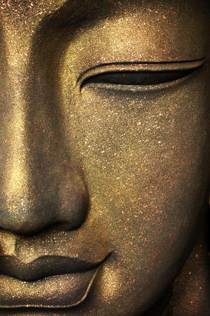 Het gezicht van Boeddha