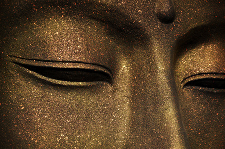 head wise: The face of Buddha