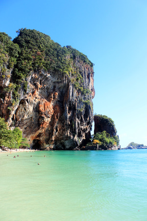 krabi: seaview tum pranang island at Krabi, Thailand Stock Photo