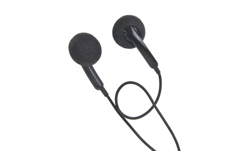 Black Earphone photo