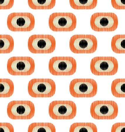elipse: patrón geométrico sin fisuras Vectores
