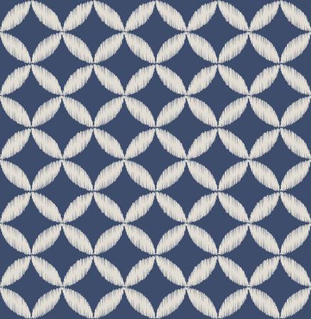 overlapping: seamless geometric pattern