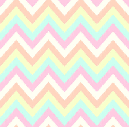 pastel colors: seamless chevron pattern  Illustration