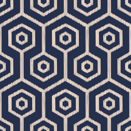 hexagonal pattern: seamless geometrical polygonal pattern