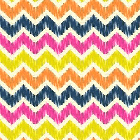seamless geometric wave pattern  Vector