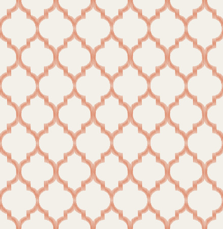 seamless islamic mesh geometric pattern  Vector