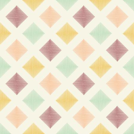 tiffany blue: seamless geometric square pattern  Illustration