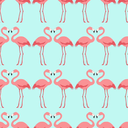 seamless flamingo bird pattern Фото со стока - 29559529