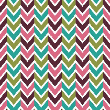 seamless herringbone wave pattern Vector
