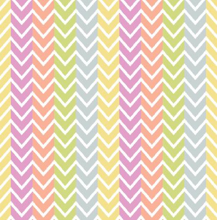repeated: seamless herringbone wave pattern Illustration