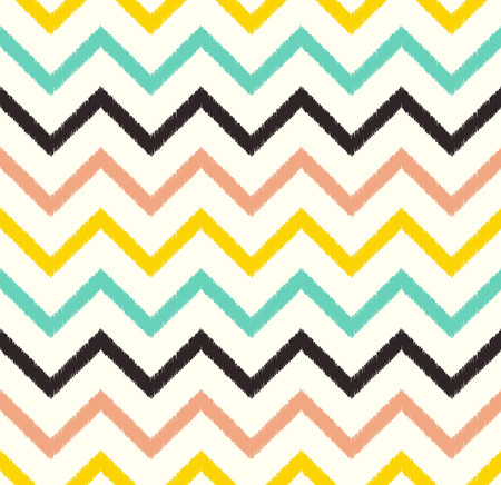 basic shapes: seamless chevron pattern  Illustration