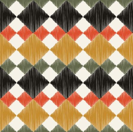 원활한 마름모 패턴 일러스트