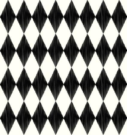 arlecchino: seamless pattern rombo Vettoriali