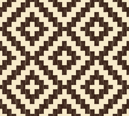 seamless ethnic geometric pattern  Vector