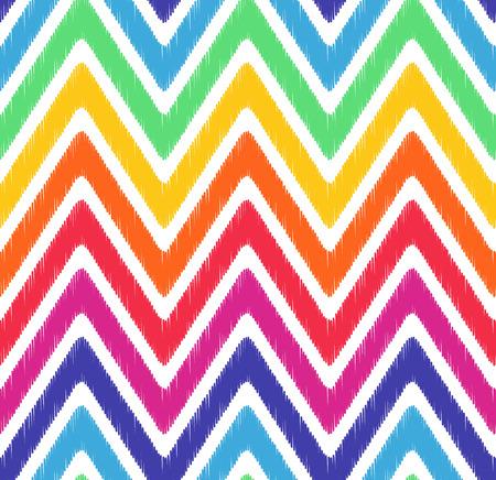 seamless wave chevron pattern