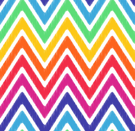 seamless wave chevron pattern Imagens - 29560451