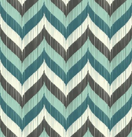 pattern seamless: nahtlose Wellenmuster Illustration