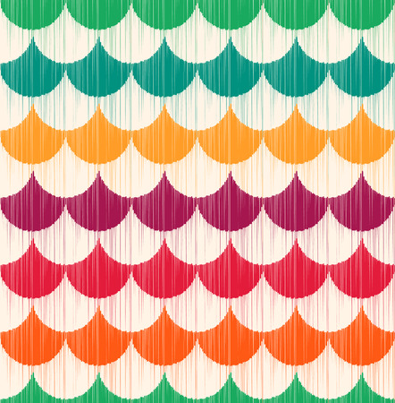 fish scales: seamless fish scales pattern  Illustration