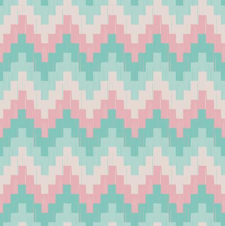 seamless horizontal wave pattern  Vector