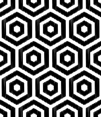 hexagonal pattern: seamless hexagon pattern