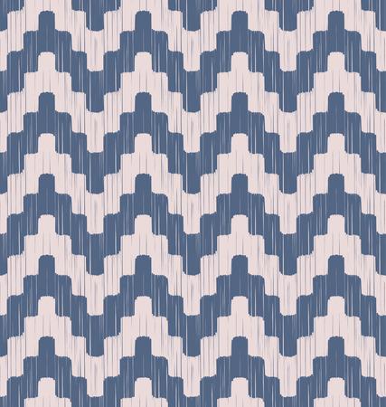 seamless pixel chevron pattern  Vector