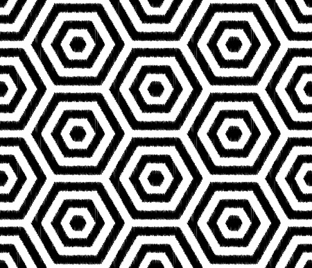 hexagonal pattern: seamless hexagonal pattern