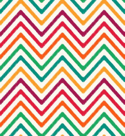 seamless colorful chevron pattern  Vector
