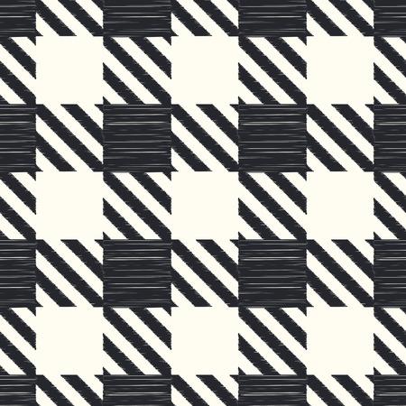 원활한 체크 무늬 패턴 일러스트