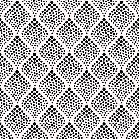 naadloze abstracte gestippelde patroon Stock Illustratie