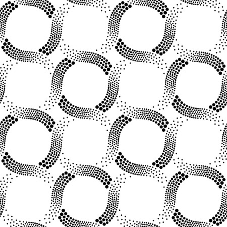 seamless abstract dotted pattern  Vector