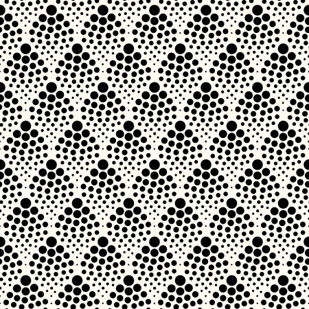 dotted lines: seamless abstract dotted pattern  Illustration