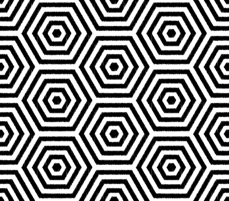 repeated: seamless hexagon pattern