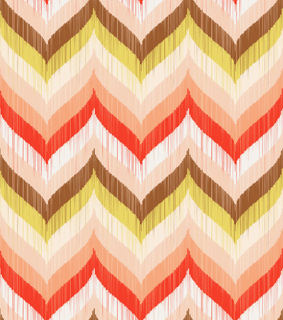 seamless geometric braids wave pattern  Vector