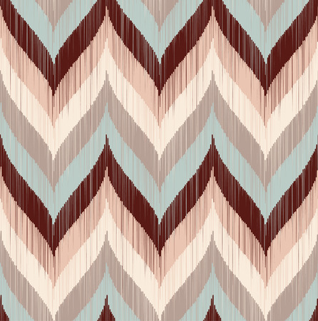 seamless geometric braids wave pattern  Illustration