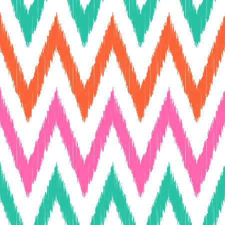 tiffany blue: seamless chevron pattern  Illustration