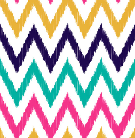 seamless chevron pattern  Çizim