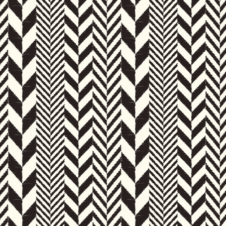 monochromatic: seamless herringbone chevron pattern