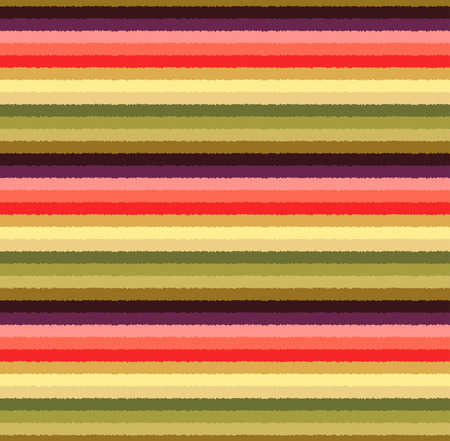 horizontal lines: seamless colorful stripes pattern