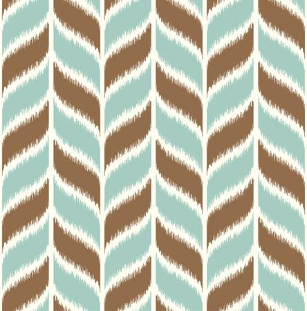 원활한 땋은 파도 패턴