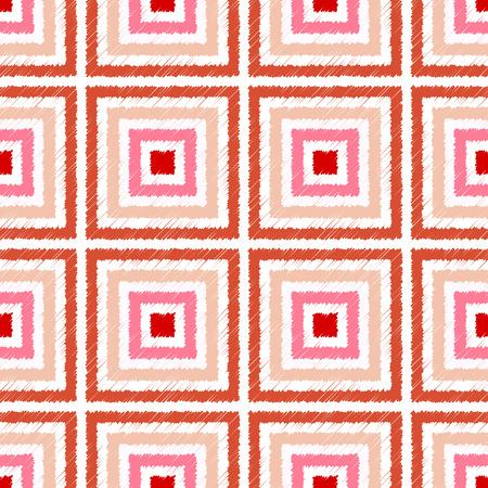 damask background: seamless square pattern  Illustration