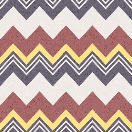 zig: seamless zig zag pattern Illustration